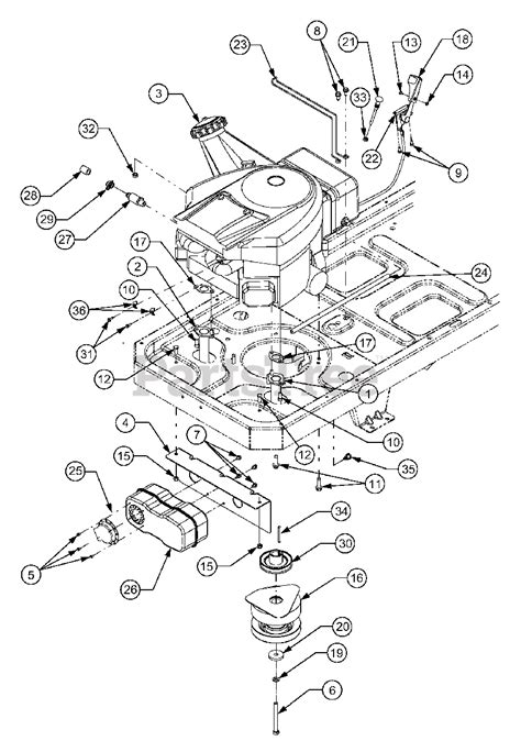 CUB CADET SERVICE MANUAL RZT 50 - Auto Electrical Wiring