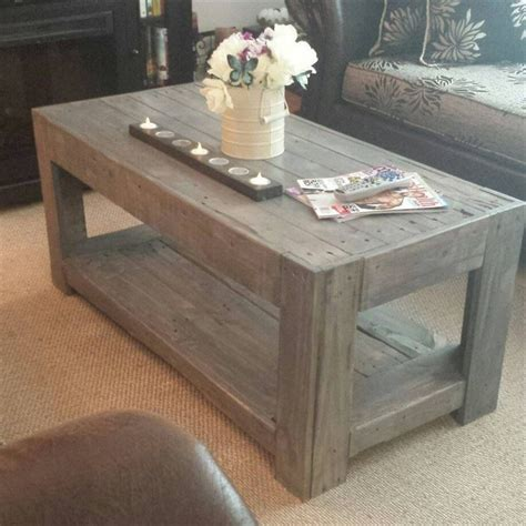 pallet coffee table plans recycled things