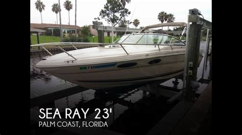 sea ray boats palm coast florida unavailable used 2001 sea ray 230 overnighter in palm