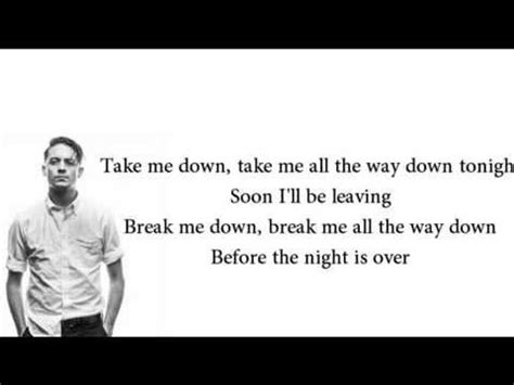 lost lyrics g eazy let s get lost lyrics