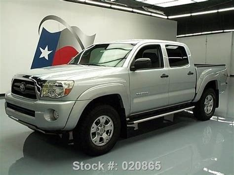 Toyota Tacoma Steps Sell Used 2006 Toyota Tacoma Prerunner Sr5 Dbl Cab Trd
