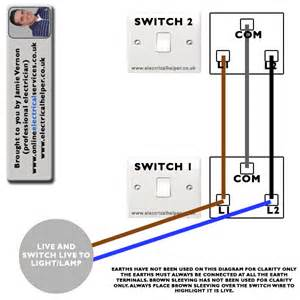 staircase wiring two switches two lights screwfix community forum
