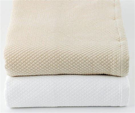 cotton matelasse coverlet traditions linens bedding ivone tailored matelasse