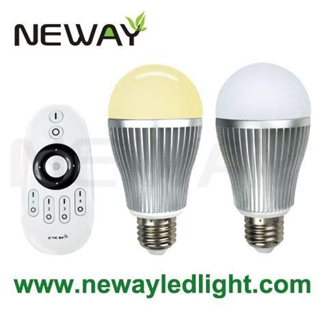 Led Light Bulb Color Temperature 9w E27 Dimmable Led Color Temperature Bulb With Remote Controller 01 Wireless Color Temperature