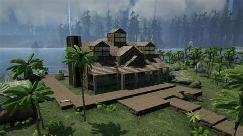 ark house designs ark survival evolved huge house design video games ps4