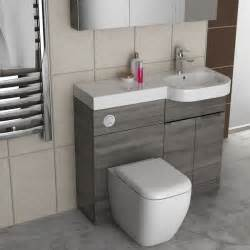 gravity combination vanity unit blue and basin bathroom