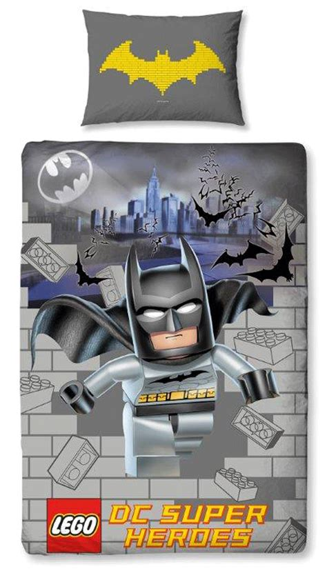 official lego batman movie kapow single duvet quilt