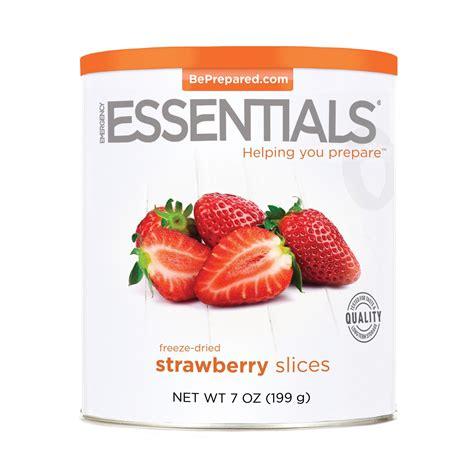 freeze dried strawberries sliced 7 oz