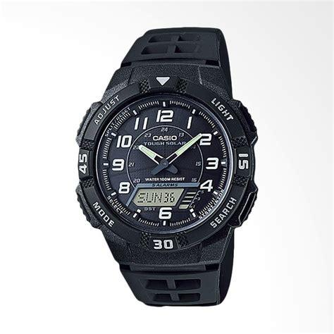 Jam Tangan Pria Casio Original Digital Analog Aq 180wd 7bvdf jual casio jam tangan pria original black aq s800w 1bvdf