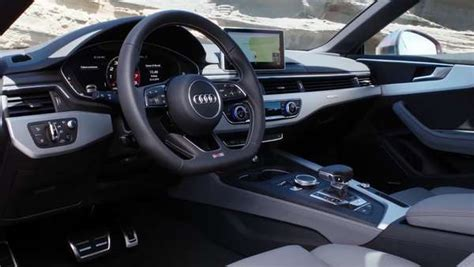 2018 audi s5 coupe interior design trailer one news page