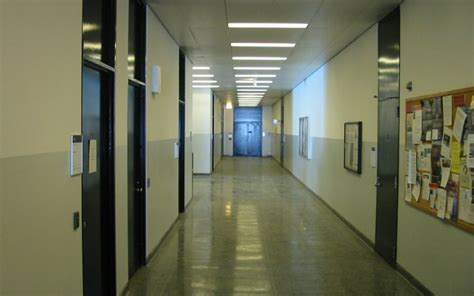 iit engineering building hallway