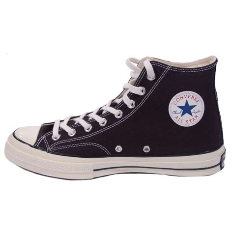 converse chuck 70 s hi black mens shoes from