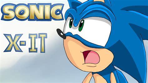 Sonic X sonic x it