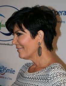 kris jenner haircut back view kris jenner haircuts great short hair for women over 50