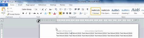 layout tab word 2010 word 2010 okruzenje osma kartica trake contextual tools
