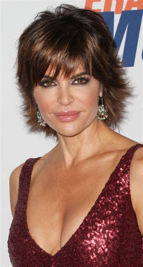 what type of hair style does lisa rinna have lisa rinna short shag hairstyle