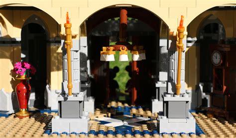 kronleuchter zusammenbauen lego disney schloss 71040 erdgeschoss fertiggestellt