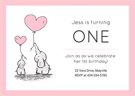 per invite template 10 creative birthday invitation card design tips and