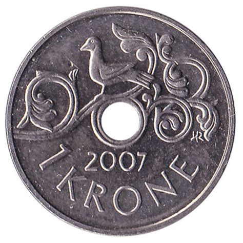 currency nok 1 krone coin exchange yours for today