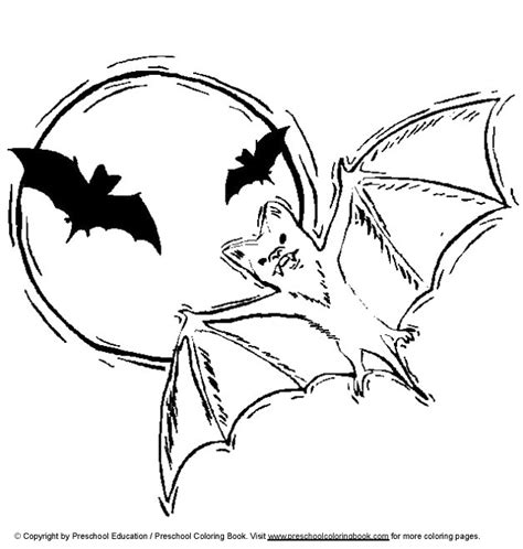 bat coloring pages coloringpages1001 com