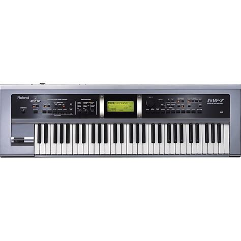 Keyboard Roland 7 Oktaf roland gw 7 keyboard synthesizer workstation music123