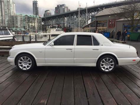 white bentley sedan pearl white bentley arnage sedan mint rolls royce
