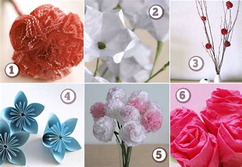 How To Make Paper Flowers With Construction Paper - six paper flower how tos for all of that construction