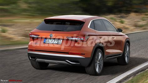 skoda coupe skoda plans coupe version of the kodiaq suv team bhp