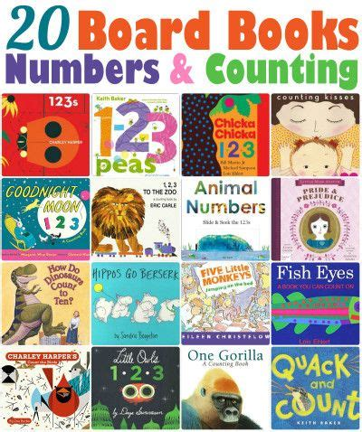 Counting Board Book 27 best images about math books on math