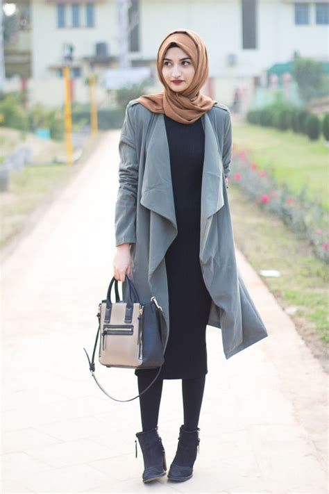 Baju Outer Blazer Boyfie Denim Fashion Wanita 20 best hijabi fashion images on styles