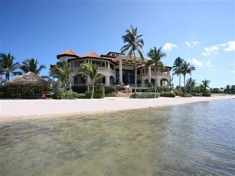 40 million castillo caribe luxury beachfront mansion in