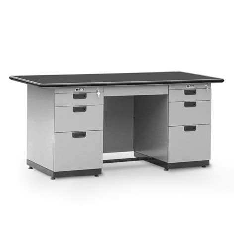 Meja Kantor Olympic Furniture meja kantor single pedestal desk alba dp 402 l 1 biro
