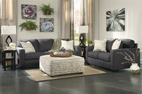 living room with two couches enjoyable artwork wall decors added two pcs charcoal sofa feat white fabric upholstery