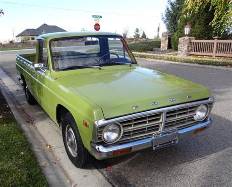all original one owner 1974 ford courier bring a trailer