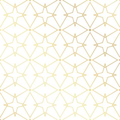 gold pattern ai golden pattern with stars vector free download