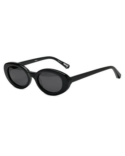 Britany Oval Sunglasses 7 elizabeth and mckinley oval acetate sunglasses