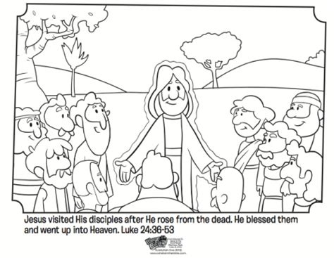 printable coloring pages of jesus and his disciples jesus and his disciples free easter coloring page