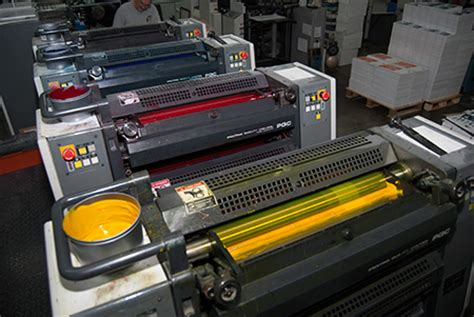 4 color press 4 color process printing visual graphics