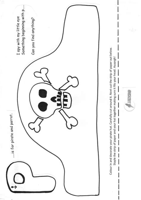 pirate hat template to print activities to try at home launchpad