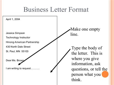 Business Letter Writing And Its Layout And Types letter writing communication skills