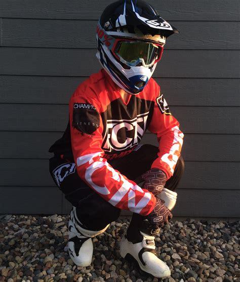 motocross gear set fctn quot bombers quot motocross gear set custom apparel inc