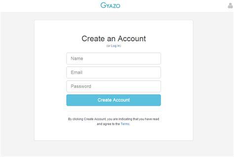 create account how can i create an account gyazo support