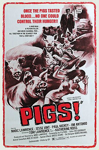 Grindhouse Poster Template by Grindhouse Classics Pigs Trash Guru