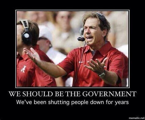 Funny Alabama Football Memes - 1000 ideas about nick saban on pinterest crimson tide