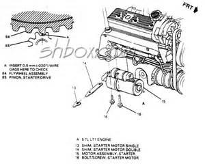 urgent starter shims ls1lt1 forum lt1 ls1 camaro firebird trans am engine tech forums