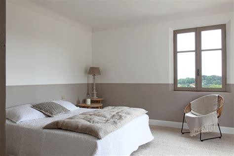 id馥 d馗o peinture chambre chambre gris fonce et blanc