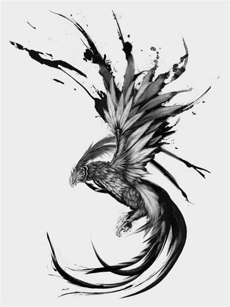 tattoo phoenix sketch rising phoenix by keith agcaoili via behance tattoos
