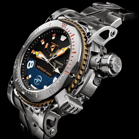 dive watches oceanictime visconti scuba abyssus 3000m continuation of