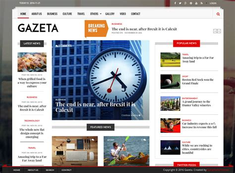 themes for drupal 8 gazeta news magazine drupal 8 theme symphonythemes