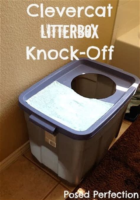 how to keep out of litter box clevercat litter box knock hometalk